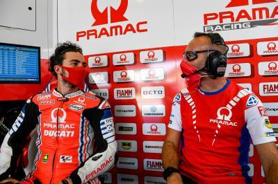 Bagnaia, baja para Brno y el GP de Austria