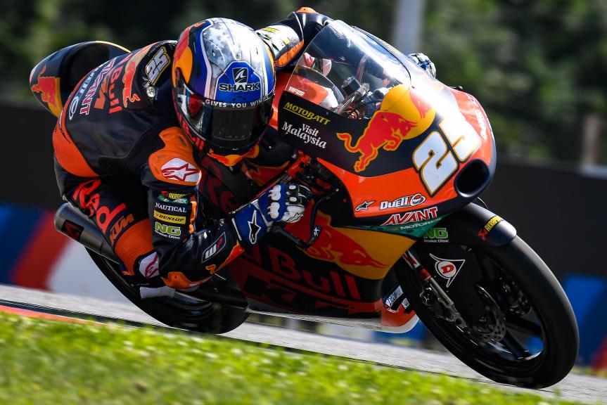 Raul Fernandez, Red Bull KTM Ajo, Monster Energy Grand Prix České republiky