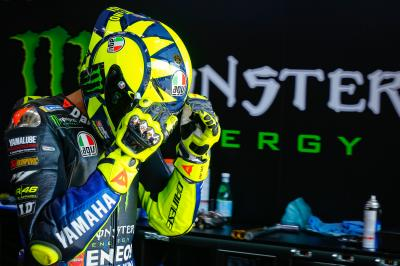 Does Rossi feel he can salvage his 200th podium from tenth?