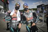 Fabio Quartararo, Franco Morbidelli, Petronas Yamaha SRT, Monster Energy Grand Prix České republiky