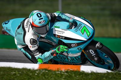Foggia produces phenomenal ride for maiden Moto3™ win
