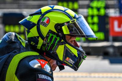 What was Rossi missing in order to finish on the podium?