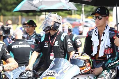 Quartararo sucumbe en la montaña rusa de Brno: ¿Qué pasó?