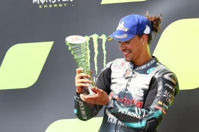 Morbidelli décroche son premier podium en MotoGP™ !