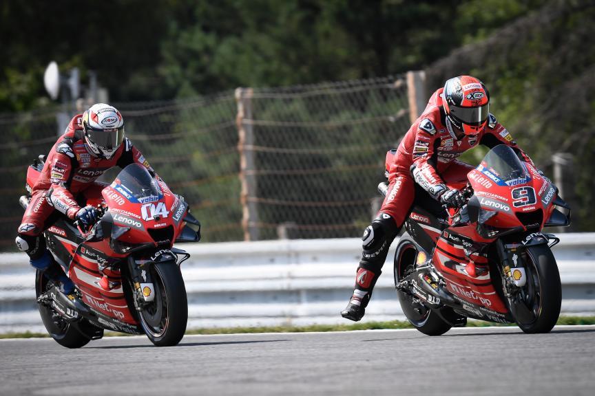 Danilo Petrucci, Andrea Dovizioso, Ducati Team, Monster Energy Grand Prix České republiky
