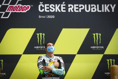 """A crazy last 5 laps!"" - Moto3™ rostrum round-up"