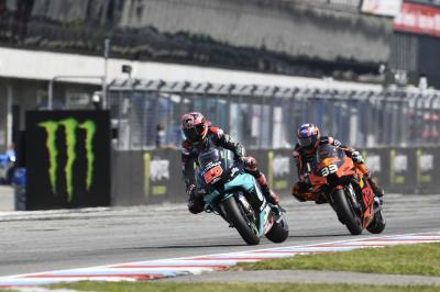 La nueva generación de MotoGP™ empuja cada vez más fuerte