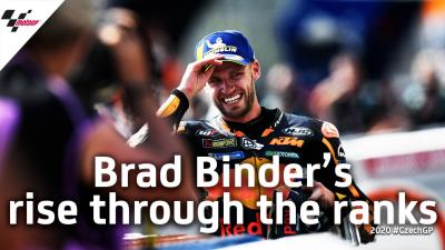 Brad Binder's rise through Grand Prix the ranks