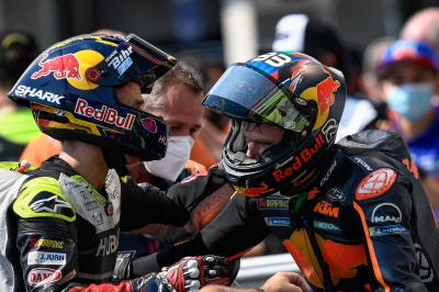 Unseen: Zarco, from pole to podium!