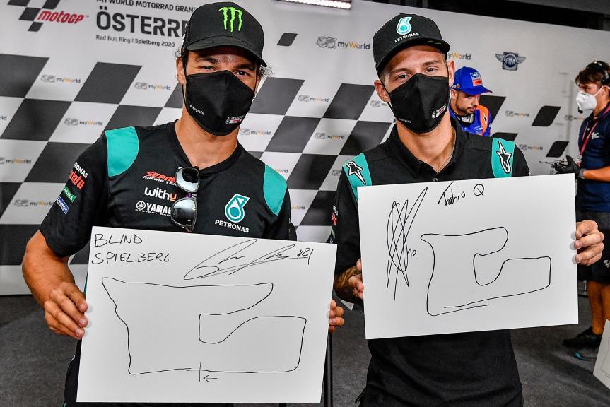 Franco Morbidelli, Fabio Quartararo, Petronas Yamaha SRT, myWorld Motorrad Grand Prix von Österreich