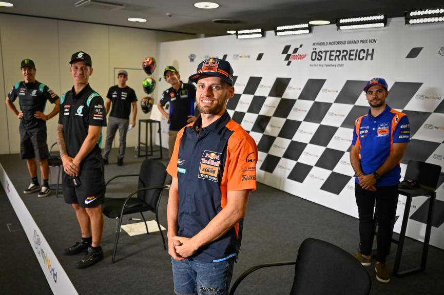 Press conference, myWorld Motorrad Grand Prix von Österreich