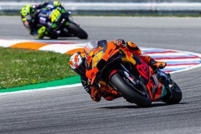 Rossi und Quartararo loben KTMs 'beeindruckende Steigerung'