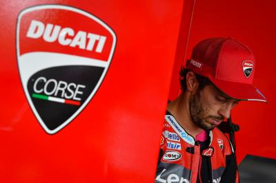 Dovizioso responds to Tardozzi's comments about his future