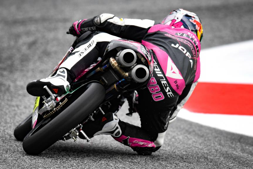 Tony Arbolino, Rivacold Snipers Team, myWorld Motorrad Grand Prix von Österreich