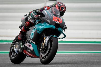 Quartararo : « Du mieux par rapport à Brno »