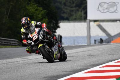 Zarco e Rossi sono i più veloci del Q1