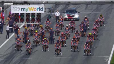Red Bull MotoGP Rookies Cup : Course 1 en Autriche