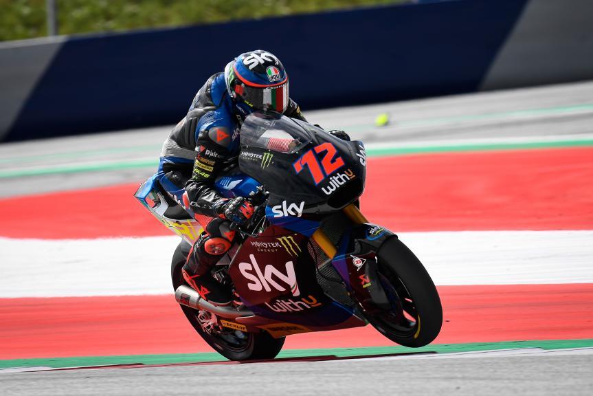 Marco Bezzecchi, SKY Racing Team Vr46, myWorld Motorrad Grand Prix von Österreich