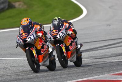 Acosta abre el fuego en la Red Bull MotoGP Rookies Cup 2020