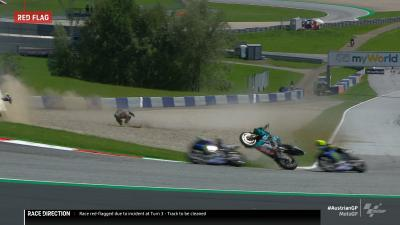 第5戦オーストリアGP『MotoGP™クラス』-クラッシュ