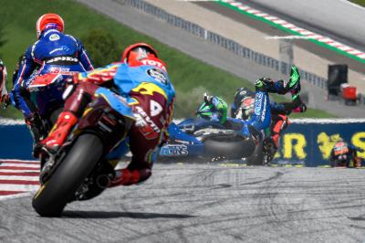 Scary Moto2™ pile-up from every possible angle
