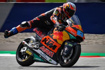 Martin prepara il passo gara al Red Bull Ring
