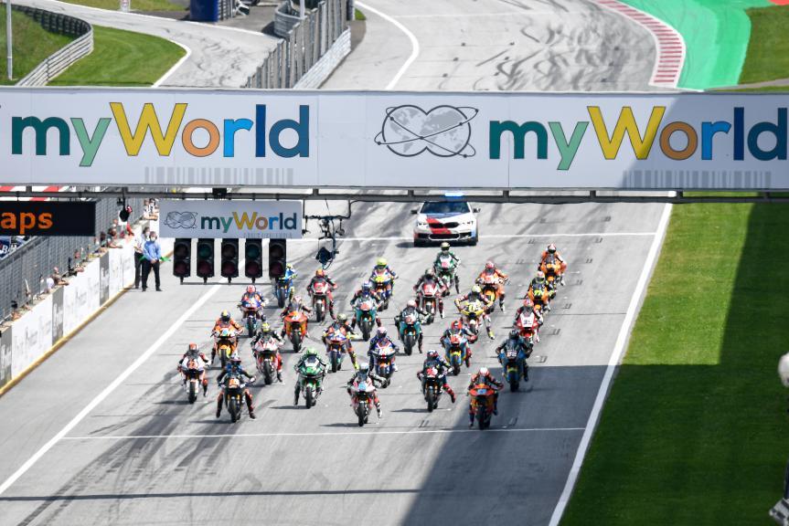 Moto2™, myWorld Motorrad Grand Prix von Österreich