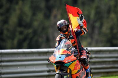 Martin becomes a home hero for KTM with debut Moto2™ win