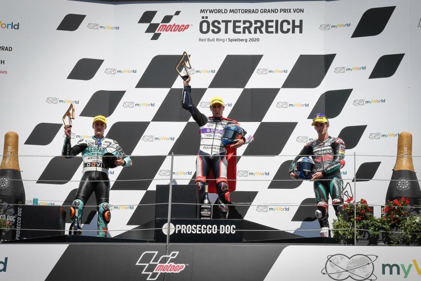Albert Arenas, Jaume Masia, John Mcphee, myWorld Motorrad Grand Prix von Österreich