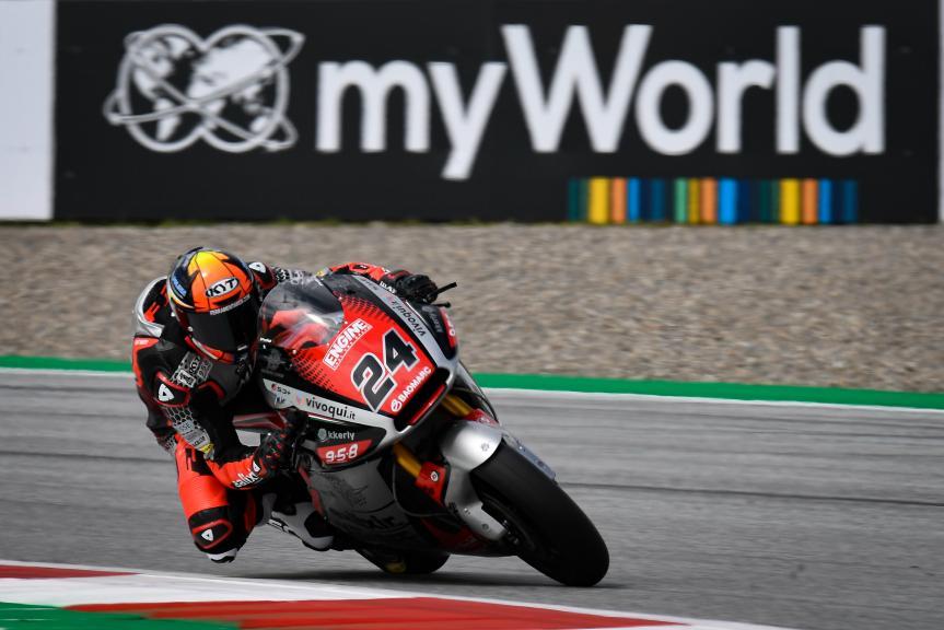 Simone Corsi, Mv Agusta Temporary Forward, myWorld Motorrad Grand Prix von Österreich