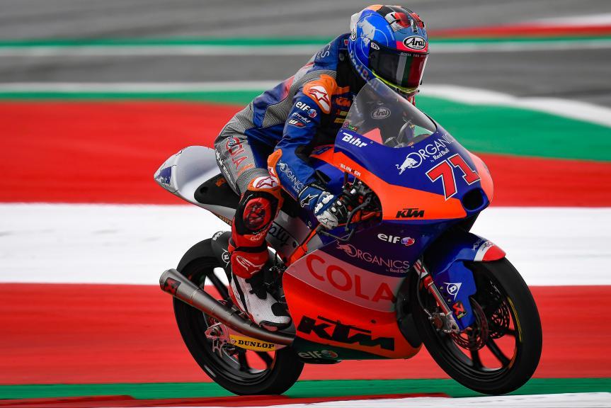 Ayumu Sasaki, Red Bull KTM Tech 3, myWorld Motorrad Grand Prix von Österreich