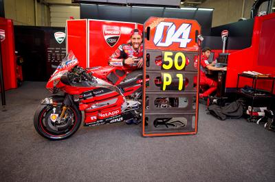 Unseen: Dovizioso and Ducati's perfect storm