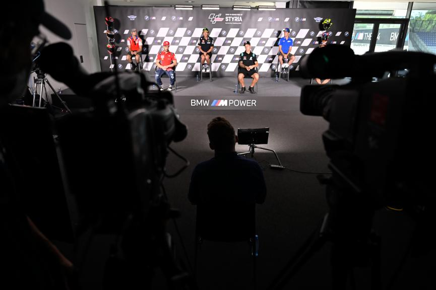 Press-Conference, BMW M Grand Prix of Styria