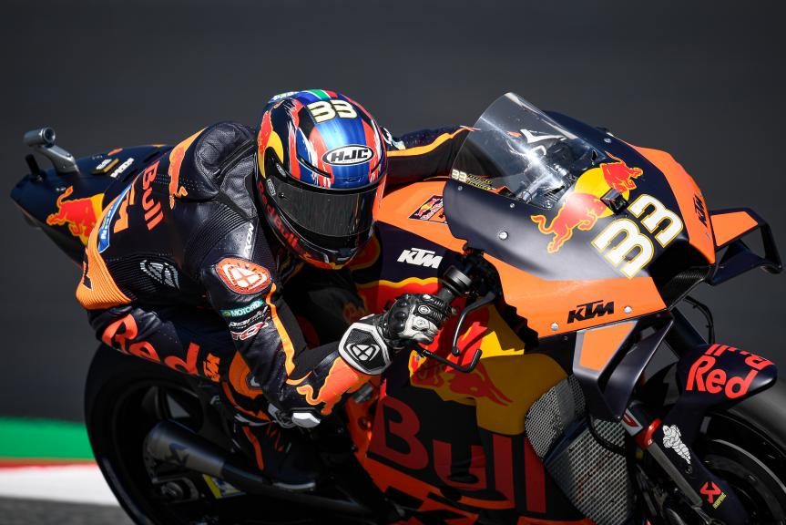 Brad Binder, Red Bull KTM Factory Racing, BMW M Grand Prix of Styria
