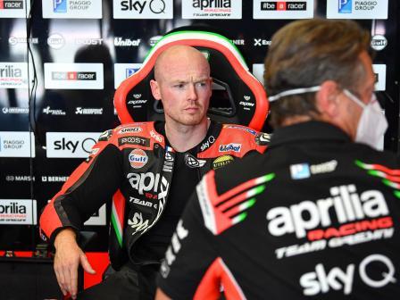 Bradley Smith, Aprilia Factory Racing