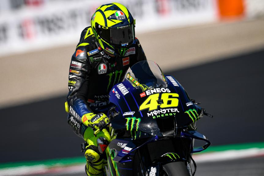 Valentino Rossi, Monster Energy Yamaha MotoGP, BMW M Grand Prix of Styria