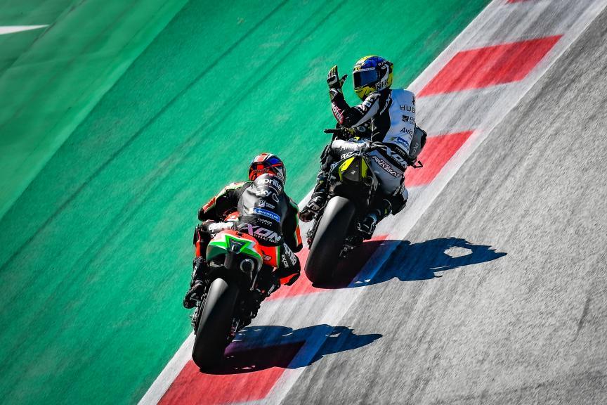 Tito Rabat, Reale Avintia Racing, BMW M Grand Prix of Styria