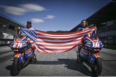 Tour d'honneur pour Hopkins et J. Roberts au Red Bull Ring
