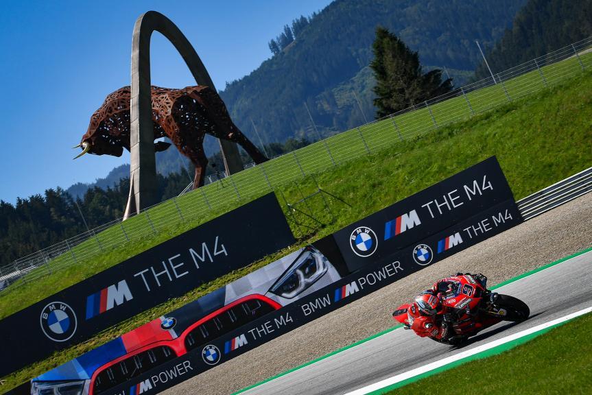 Danilo Petrucci, Ducati Team, BMW M Grand Prix of Styria