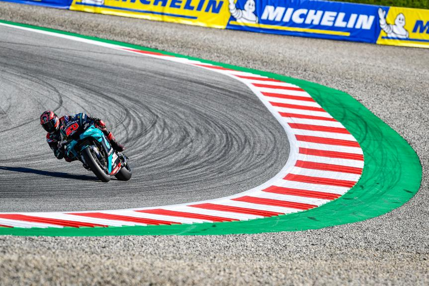 Fabio Quartararo, Petronas Yamaha SRT, BMW M Grand Prix of Styria