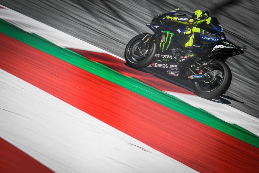 Valentino Rossi, Monster Energy Yamaha MotoGP, BMW M Grand Prix of Styria
