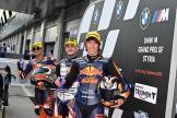 Aron Canet, Jorge Martin, Tetsuta Nagashima, BMW M Grand Prix of Styria
