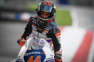 Class rookie Canet delivers maiden Moto2™ pole