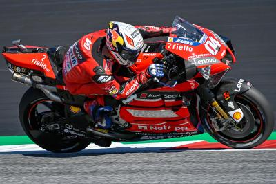 Styria Warm Up: Dovizioso fastest from Mir