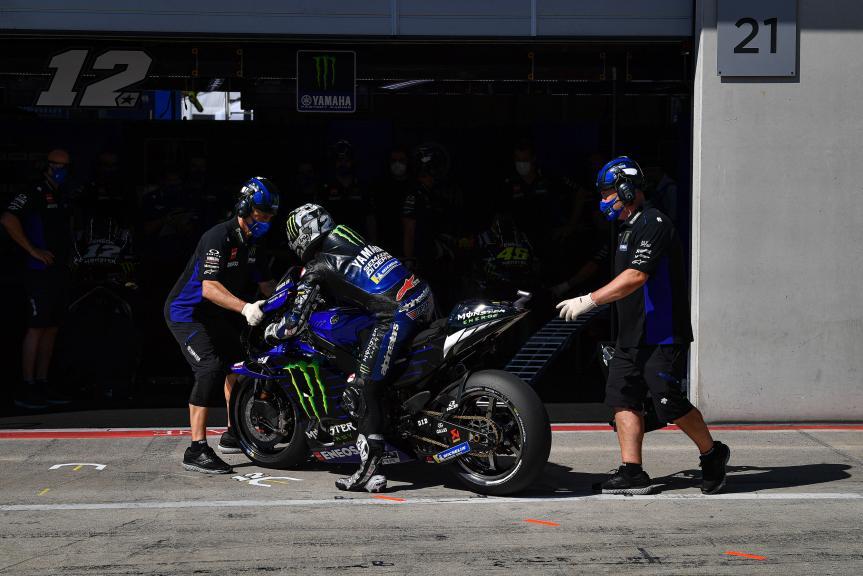 Maverick Vinales, Monster Energy Yamaha MotoGP, BMW M Grand Prix of Styria