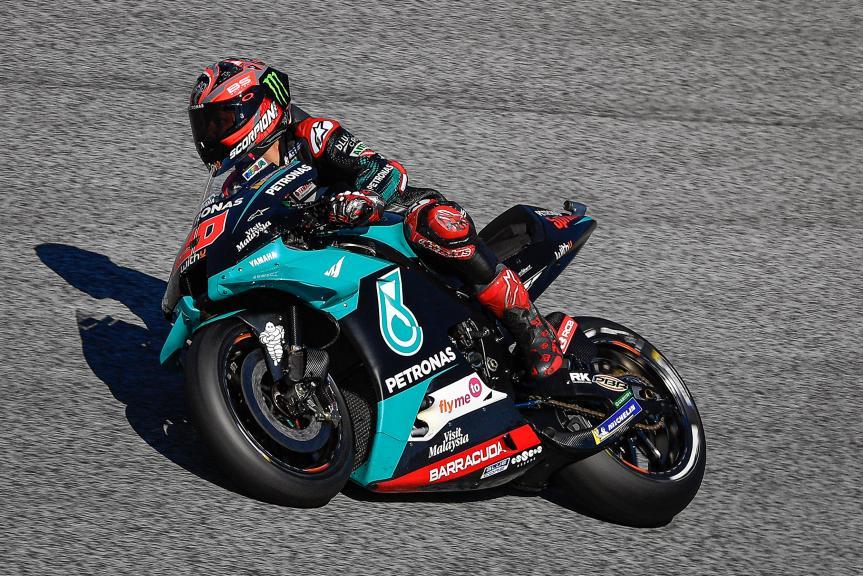 Fabio Quartararo, Petronas Yamaha SRT, BMW M Grand Prix of Styria