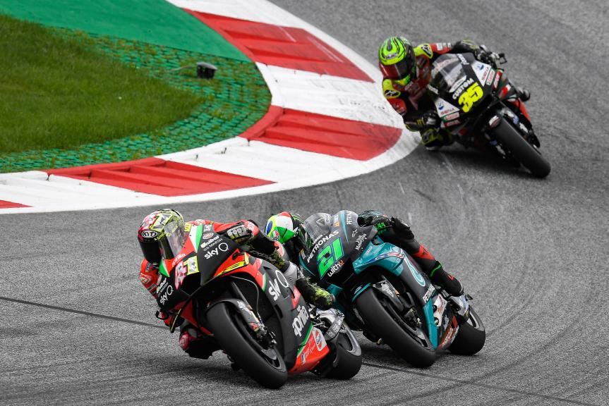 Aleix Espargaro, Aprilia Racing Team Gresini, BMW M Grand Prix of Styria
