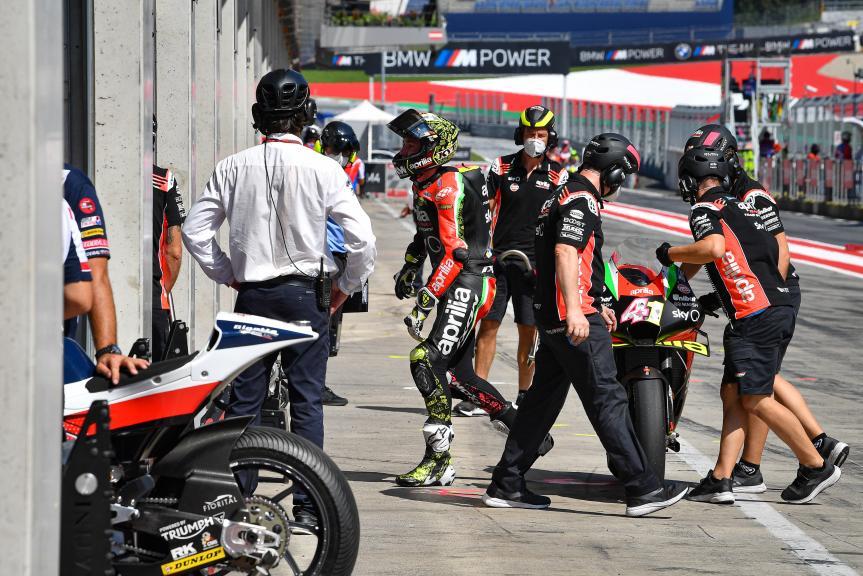 Aleix Espargaro, Aprilia Racing Team Gresini, BMW M Grand Prix of Styria