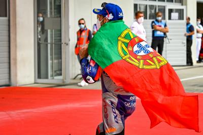 Portugal's pioneer: Oliveira stuns in Styria