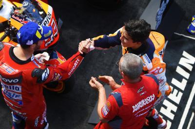 ¿Qué piensa Márquez del adiós de Dovizioso a Ducati?